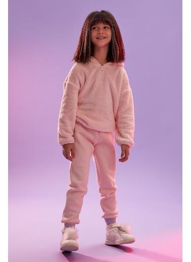 DeFacto Kız Çocuk Jogger Eşorman Alt Pembe